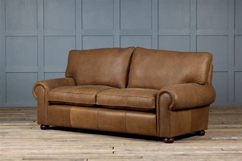 rustic brown leather sofa furniture rustic leather sofa a flair of style for your