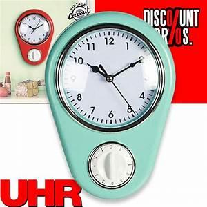Wanduhr Mit Bildern : retro k chenuhr uhr wanduhr mit eieruhr haushalt k che ~ Watch28wear.com Haus und Dekorationen