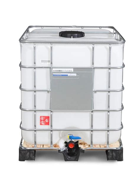Prenez donc bien soin de vérifier ce point avant de choisir vos accessoires pour cuves ibc 1000l de récupération d'eau de pluie. Cuve Ibc 1000L Leboncoin - Cuve IBC produits dang., PE, 1000l, DN 150 x DN 50, Ex : Un ibc est ...