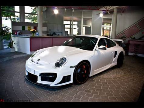 white techart gt street rs based   gt full hd