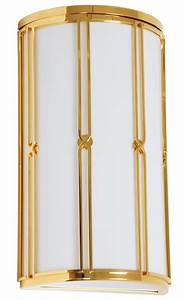 Wandleuchte Art Deco : gold ist das neue messing wandleuchte mit 24 karat f rs exklusive bad lumi leuchten ~ Sanjose-hotels-ca.com Haus und Dekorationen