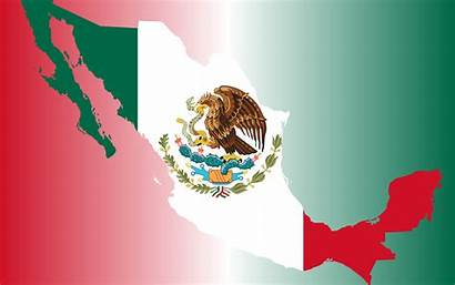 Mexican Mexico Flag Background Map Clipart Cool