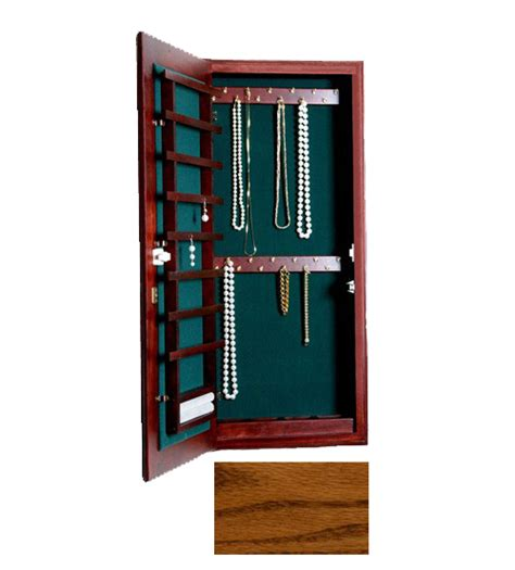Wall Mount Jewelry Cabinet by Small Wall Mounted Jewelry Cabinet Magnetic Lock In