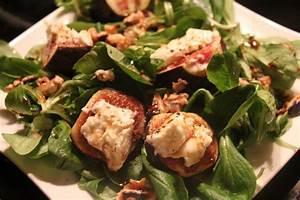Salat Mit Ziegenkäse Und Honig : salat mit ziegenk se feigen und honig walnuss vinaigrette ~ Lizthompson.info Haus und Dekorationen