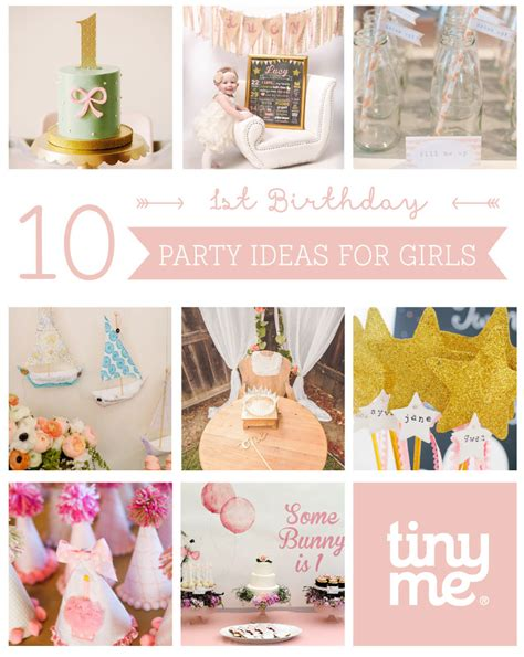 girl 1st birthday party themes 10 1st birthday party ideas for tinyme