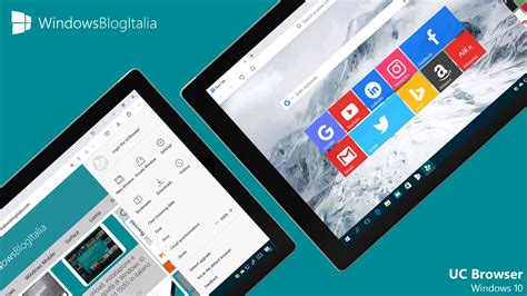 uc browser per pc e tablet windows 10