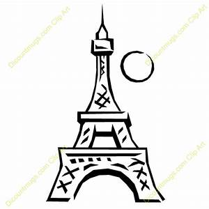 Simple Eiffel Tower Cartoon | www.imgkid.com - The Image ...
