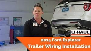 2014 Ford Explorer Trailer Wiring Installation