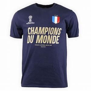 T Shirt Champion Homme : tee shirt champions du monde homme fifa prix d griff ~ Carolinahurricanesstore.com Idées de Décoration