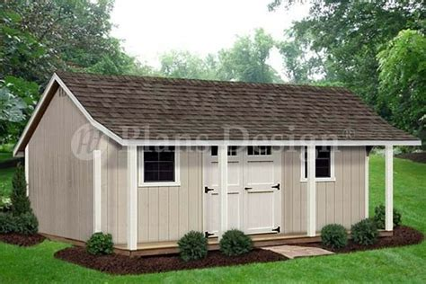 Free Shed Blueprints 12x20 by 12 X 20 Storage Shed With Porch Playhouse Plans