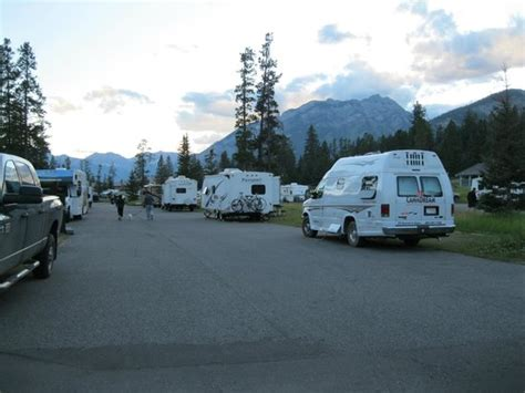 Tunnel Mountain Village Ii Campground Picture Of Tunnel