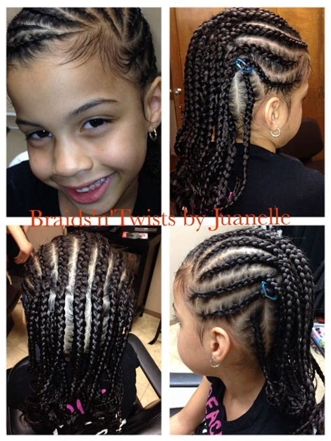 my little client 6 years old natural and braided