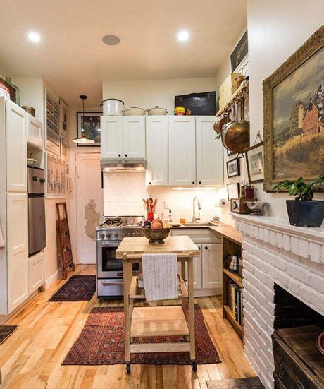 Tiny Masculine Apartment On A Budget by Would You Live In This Tiny Nyc Apartment In 2019
