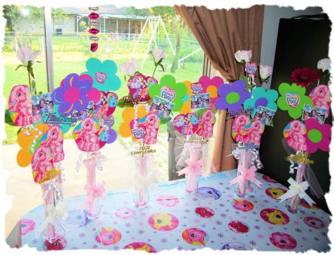 my little pony table my little pony table decorations with pictures of birthday