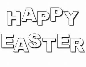 Free Coloring Pages: Happy Easter Coloring Pages