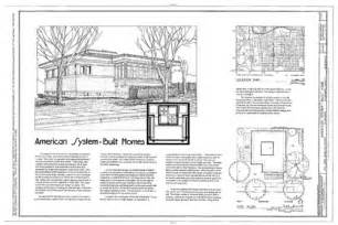 Simple Frank Lloyd Wright Prairie Style House Plans Placement by Frank Lloyd Wright Houses Frank Lloyd Wright Home Plans