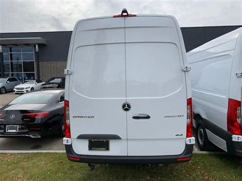 """Most of that is apparent in the front end, which picks up slimmer headlights that more closely resemble the peepers. New 2019 Mercedes Benz Sprinter Cargo Van 3500XD High Roof V6 170"""" EXT 4x4 Regular Cargo in ..."""