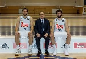 Real Madrid basketball team's official 2015/16 season ...