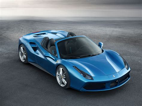 488 Spider 4k Wallpapers by 488 Spider Blue Supercar 4k Ultra Hd Wallpaper