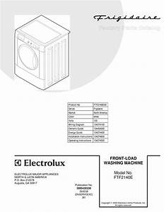 Frigidaire Ftf2140e Factory Parts Catalog Pdf Download