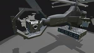 SimplePlanes | Futuristic attack helicopter