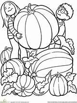 Coloring Fall Simple Preschoolers sketch template