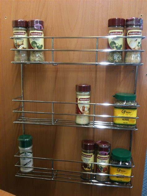 Tier Spice Rack by 3 Tier Spice Rack Chrome 0050 Organise At The