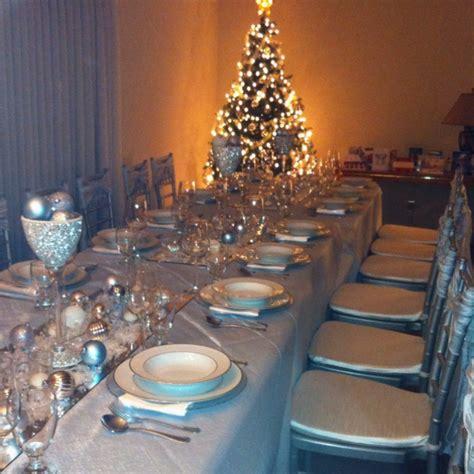 winter wonderland christmas table decor christmas dinner