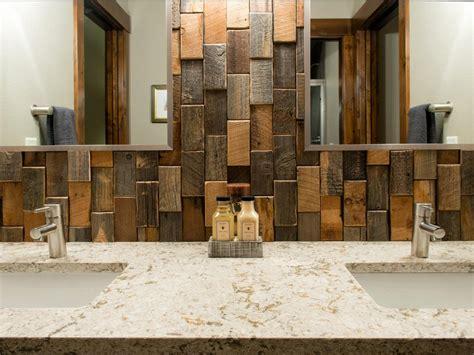 reclaimed wood tile bathroom design ideas flooring ideas installation tips