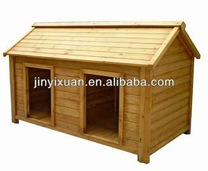 Twin dog house double large dog house for big dogs dog for Large double dog house