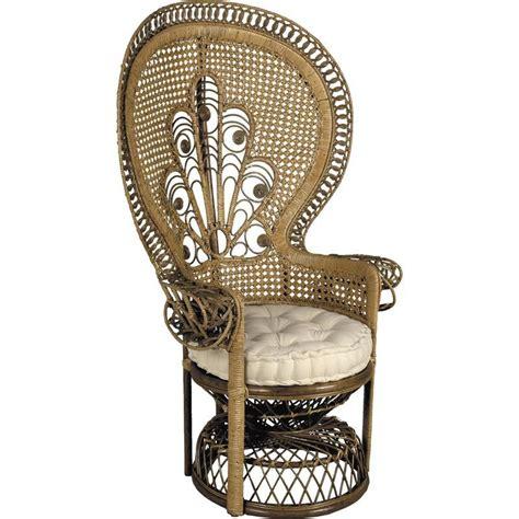 fauteuil emmanuelle en rotin teint 233 marron