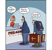 Atheist Airlines  Born Again Pagan Cartoons