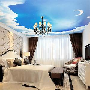 Fototapete Für Schlafzimmer : blauen himmel fototapete 3d galaxy tapete sterne mond decke schlafzimmer kinderzimmer dekor bar ~ Sanjose-hotels-ca.com Haus und Dekorationen