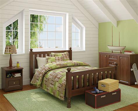 decoracion de habitaciones infantiles en color verde imujer