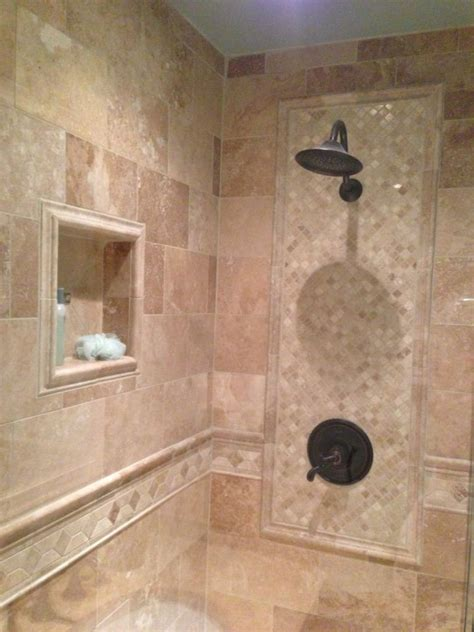 Bathroom Ceramic Wall Tile Design by Modern Bathroom Shower Tile Designs White And Blue Ceramic