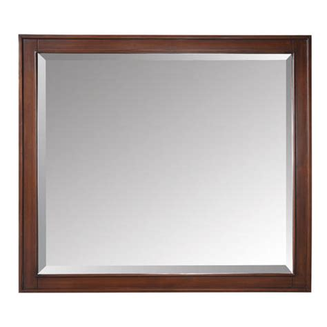 Menards Framed Bathroom Mirrors by Avanity 36 Quot Tobacco Mirror At Menards 174