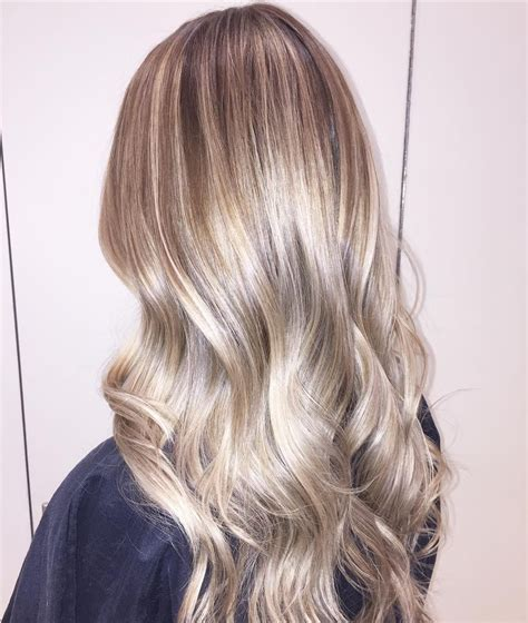 Shiny Hair Color by Shiny Toffee Hair With Pale Balayage