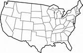 Blank US Map | United States Blank Map | United States Maps