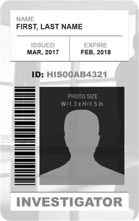 ms word photo id badge templates   professionals