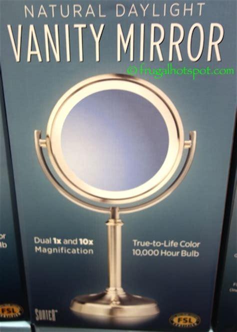 costco lighted mirror costco sunter lighted vanity mirror 14 99 frugal