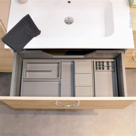 kit salle de bain organisateur de tiroir kit de rangement n 176 12 l80 x p50 cm hakeo oskab