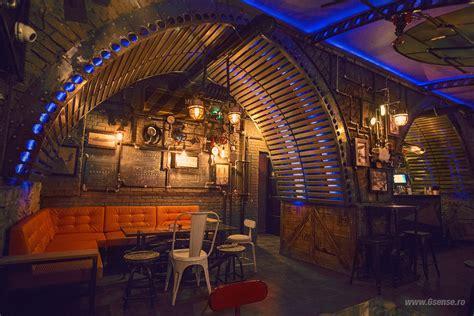 geek art gallery interior design submarine themed pub