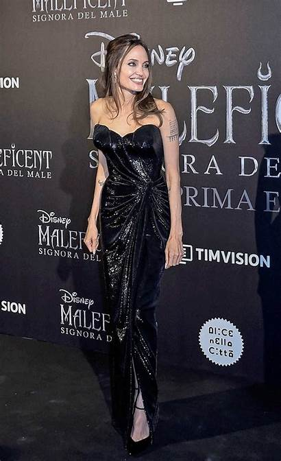 Angelina Jolie Maleficent Rome Mistress Evil Premiere