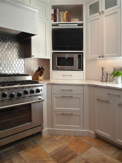 kitchen microwave ideas 15 microwave shelf suggestions