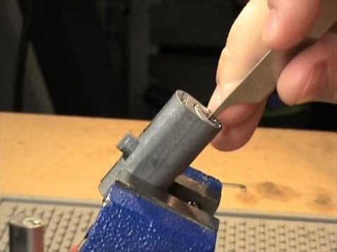 how to pick a file cabinet lock file cabinet lock picked and bypassed youtube