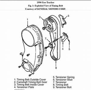How To Set 96 Geo Tracker Timing After Overhaul