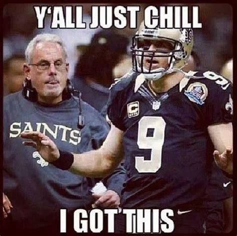 Funny Saints Memes - 1000 images about haha on pinterest football memes tony romo and who dat