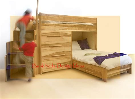 Best Loft & Bunk Beds With Stairs, Desk
