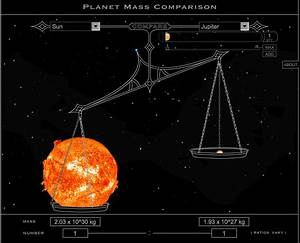 The mass of Jupiter - Cosmos