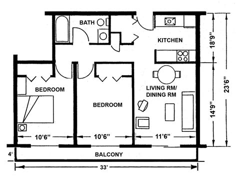 Apartment Layouts  Midland, Mi  Official Website